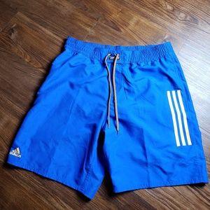 Adidas Men's Icon 2.0 Blue Shorts 3ABM055 Size Lar